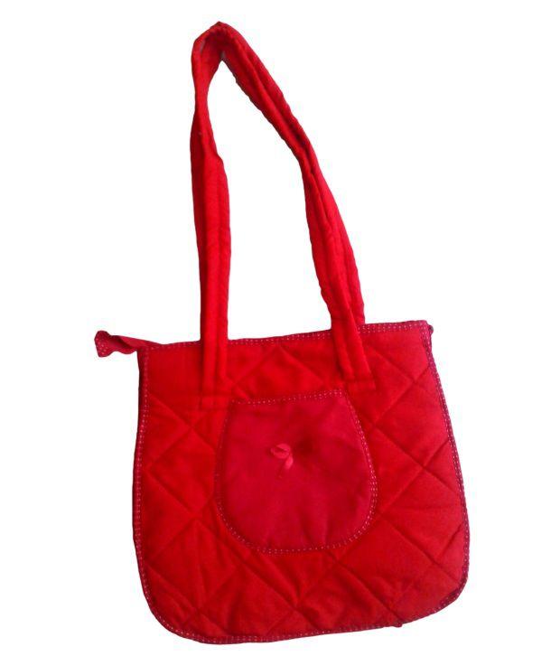 Aakruti Creations Red Bags