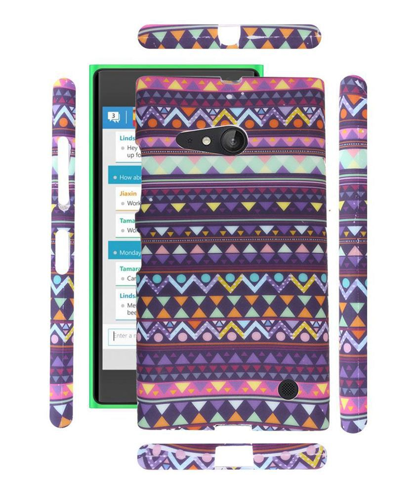 the best attitude 5519d ac860 Fuson Premium Tribal Azitec Jaipur Designer Soft Silicon Back Case Cover  For Nokia Lumia 730 / Dual - D16
