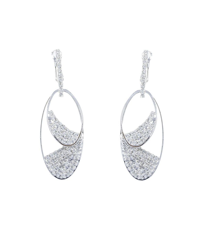 mens hanging earrings gildermen zirconia danglers for women gmea4ckrr8 buy 5639