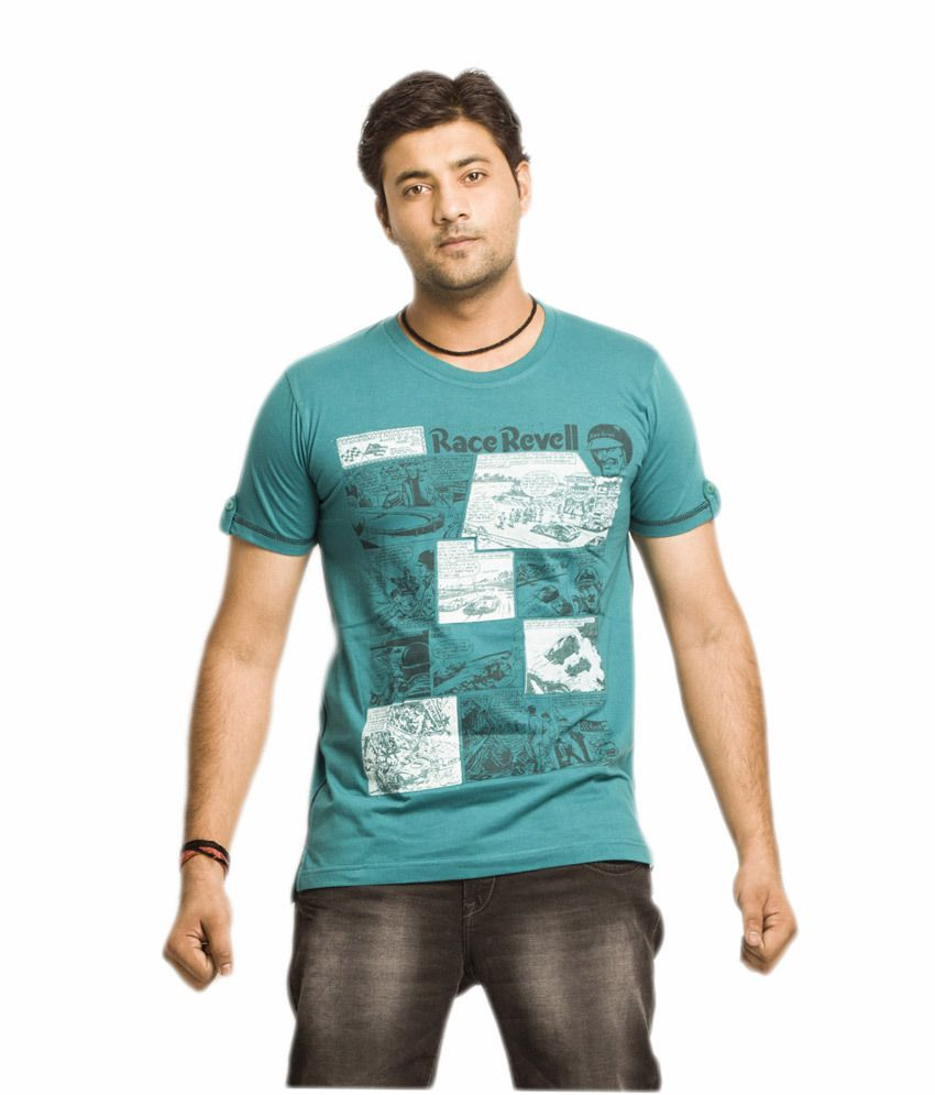 Everyuth Rama 100% Cotton Half Sleeves Round Neck T-shirt For Men