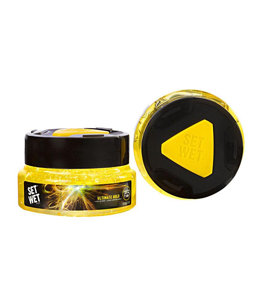 set wet ultimate hold hair gel 250 ml buy set wet ultimate hold