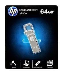 HP V-250 W 64 GB Utility Pendrive - Silver