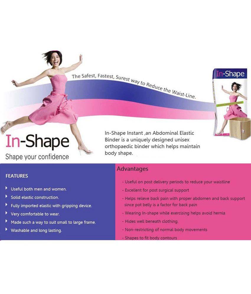 In-shape Elastic Abdominal Binder: Buy In-shape Elastic
