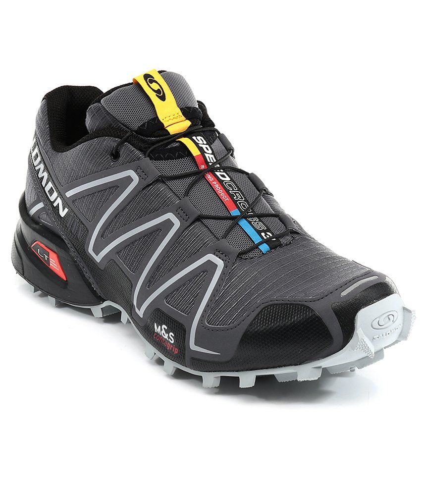 Salomon Speedcross 3 Gray Sport Shoes