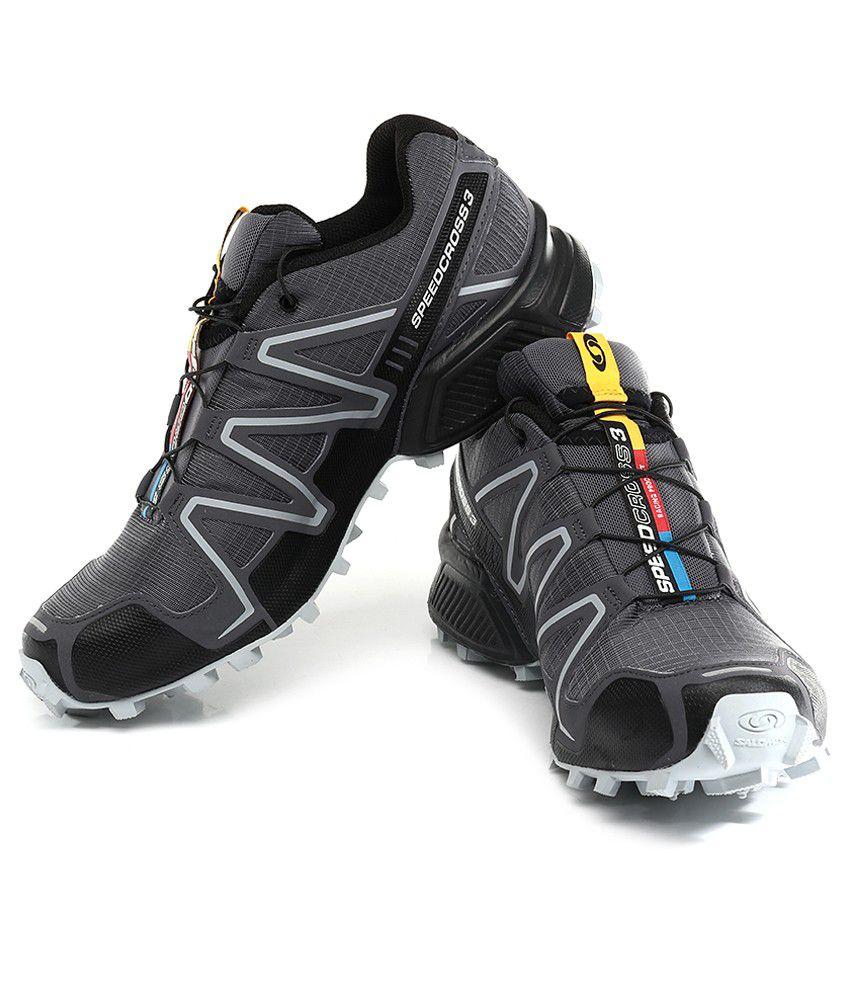 Salomon Speedcross 3 Gray Sport Shoes
