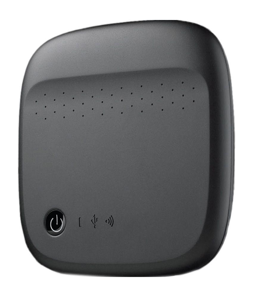 Seagate 500 GB Wireless Mobile Storage (Black)