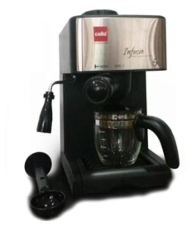Cello 4 Cup Infusio Espresso Coffee Maker Price In India