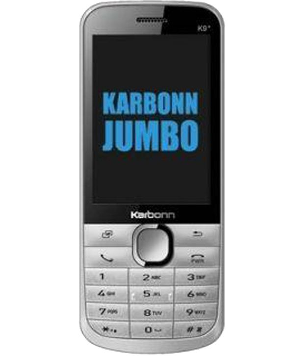 Karbonn K98 Multi Sim Mobile Phone - Black & Silver