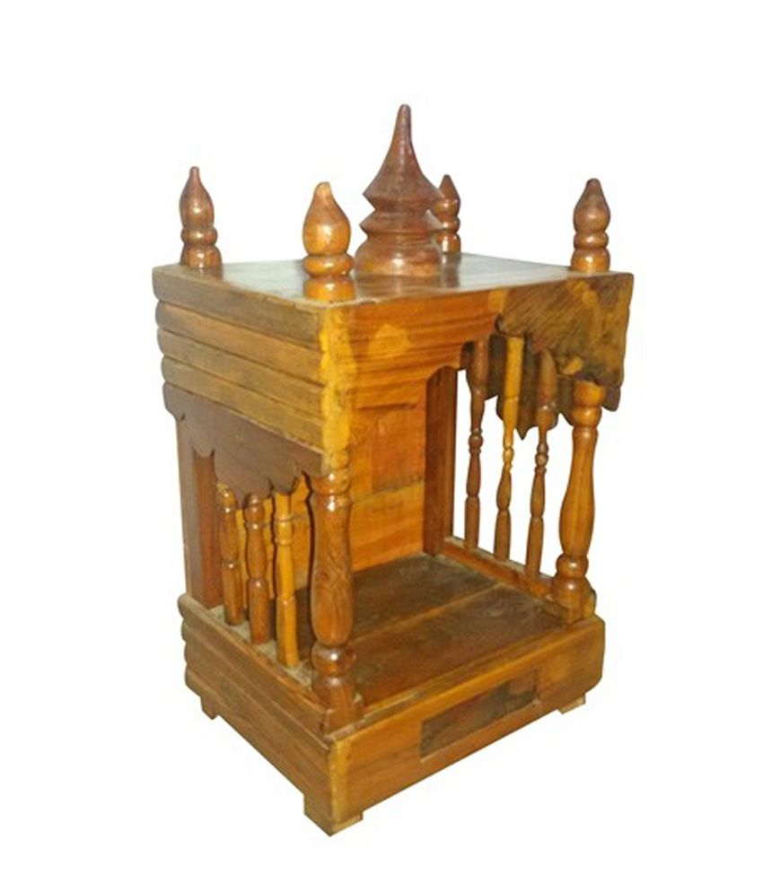 Sahil Wooden Pooja Mandir Design 2 Buy