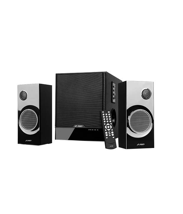 F&d 2.1 Multimedia Speaker With Digital Fm & Usb/sd Reader