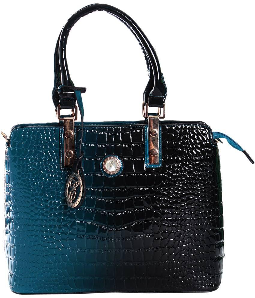 Eleegance 437-black Black Satchel Bags
