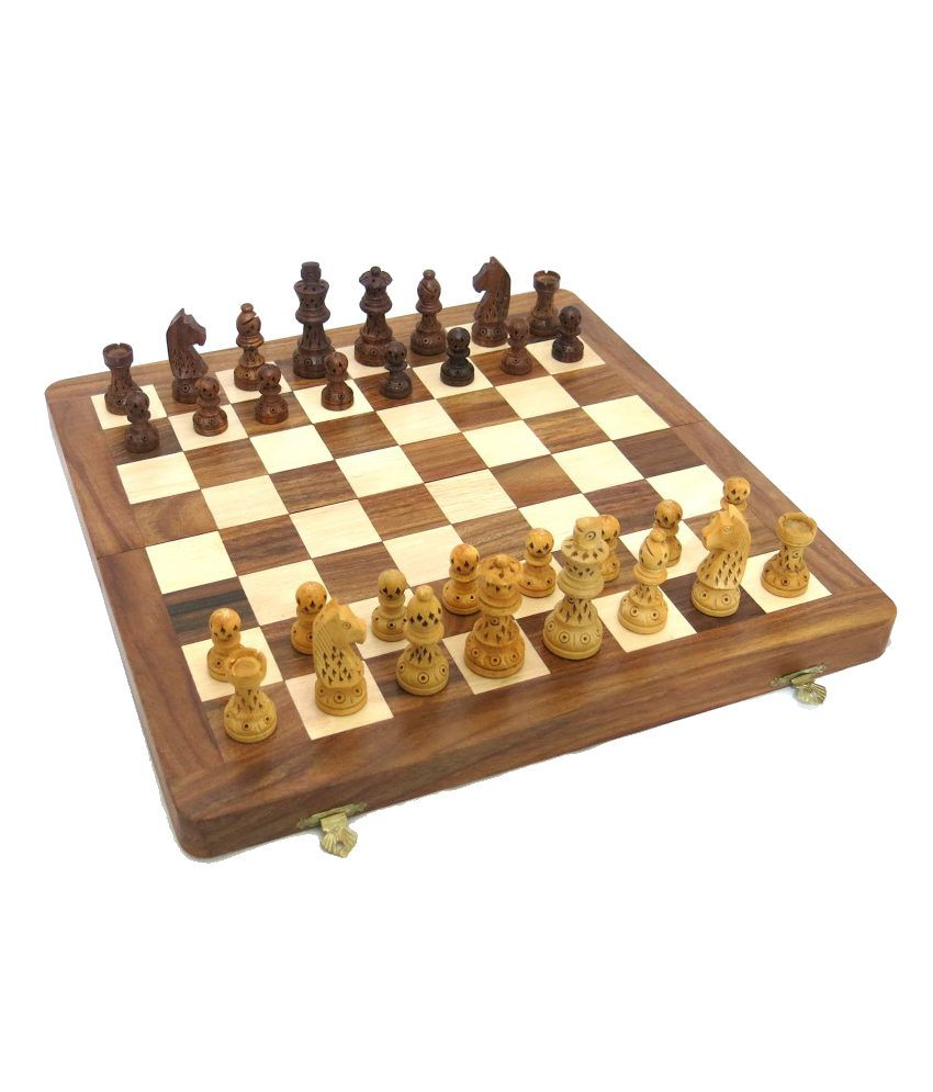 Art Palace Wooden Assorted Chess XXL