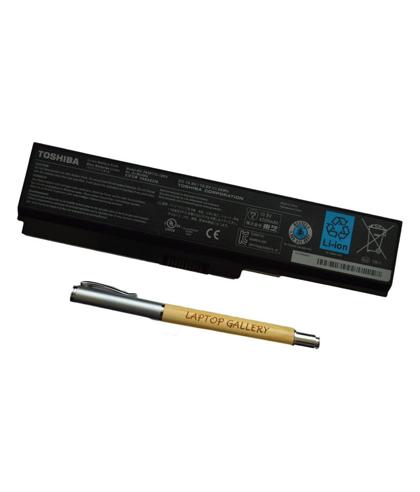 Toshiba Genuine Original 6 Cell Laptop Battery For