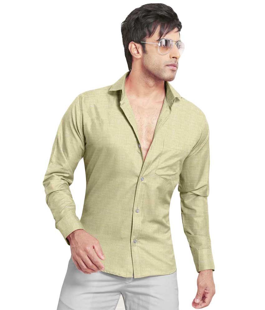Kls Pista Green Color Linen Shirt Fabric Buy Kls Pista