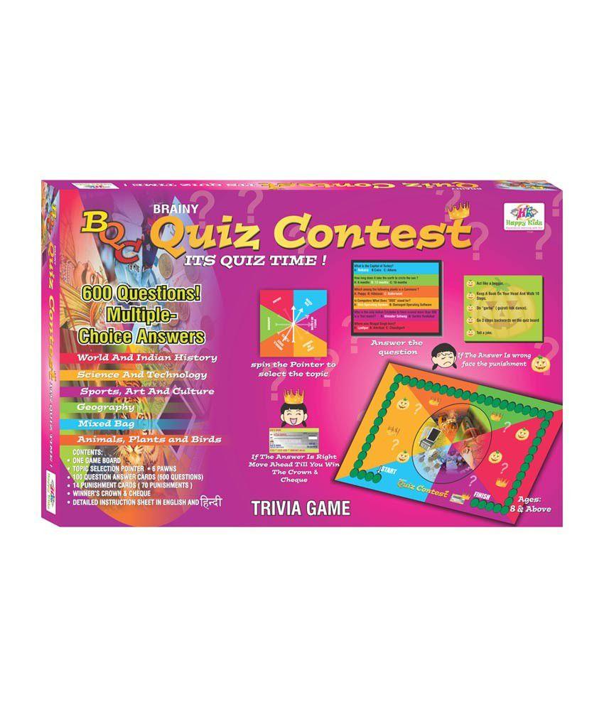happy kidz brainy quiz contest educational board game buy happy