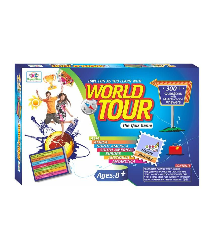 Happy Kidz World Tour The Quiz Game Educational Game For Kids