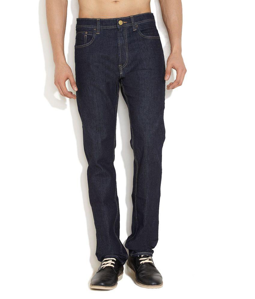 Lee Dark Blue Regular Guy Jeans
