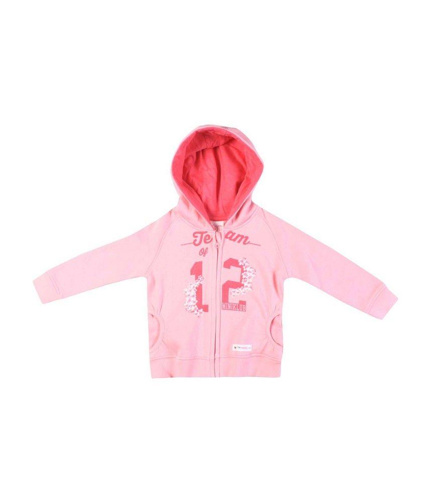 F S Mini Klub Lt Pink Sweatshirt