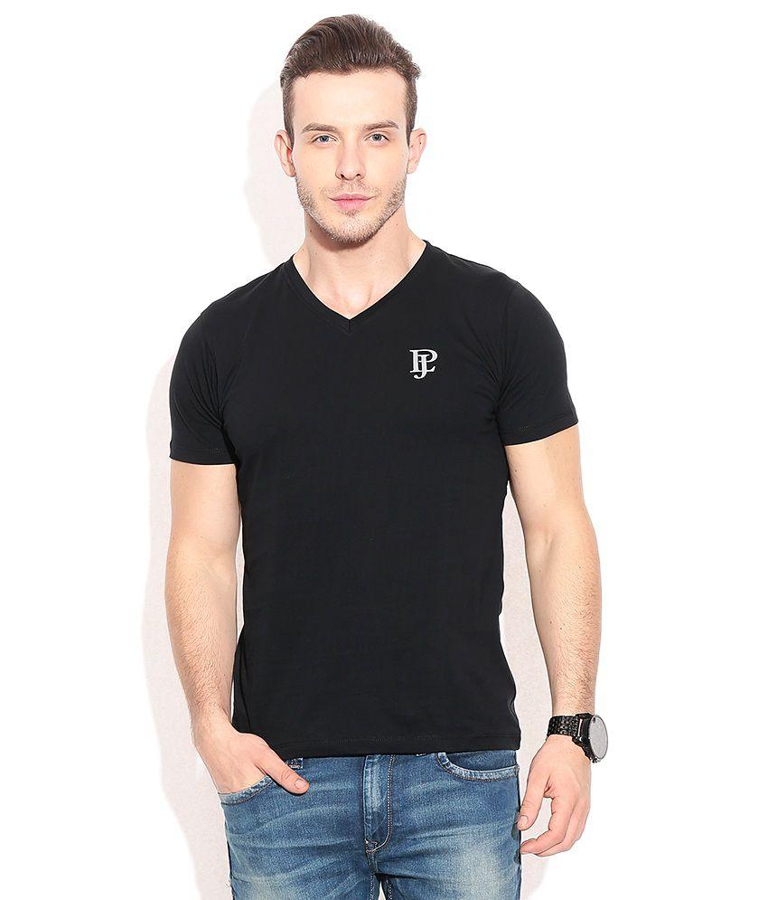 Pepe Jeans Black Cotton T-shirt