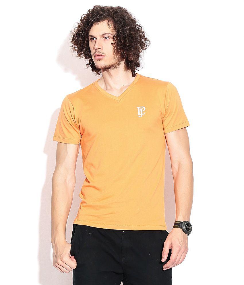 Pepe Jeans Orange Cotton T-shirt