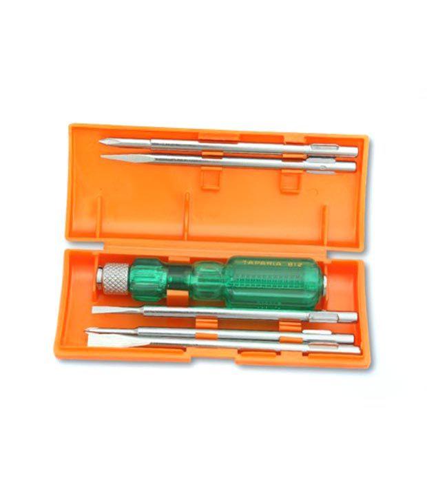 taparia 6pc screwdriver set 840 buy taparia 6pc screwdriver set 840 online at low price in. Black Bedroom Furniture Sets. Home Design Ideas