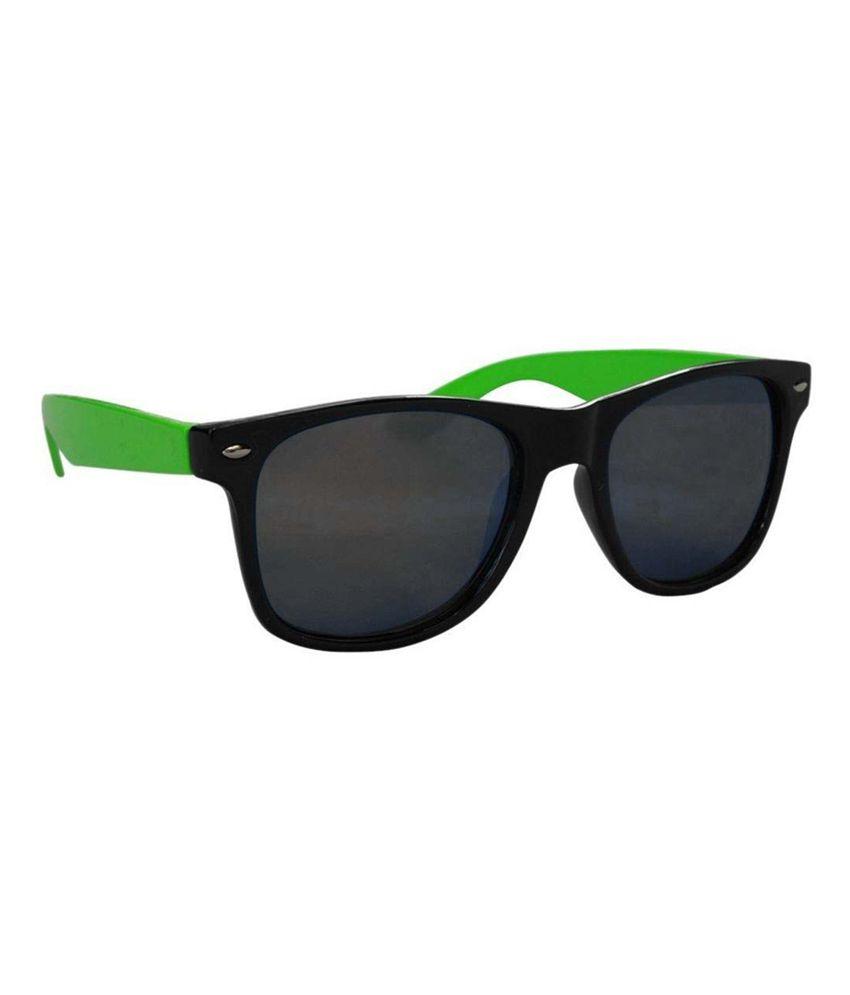 VESPL Black Wayfarer Sunglasses ( V-2204 )