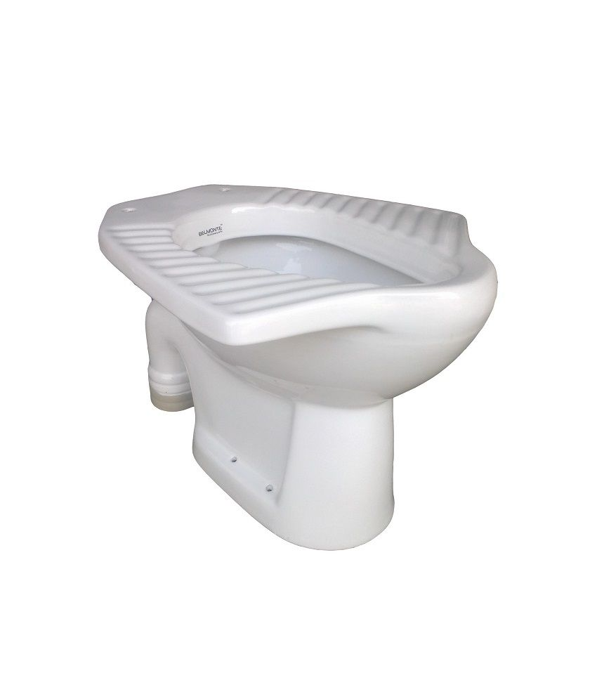 Buy Belmonte Anglo Indian Toilet Seat S Trap White