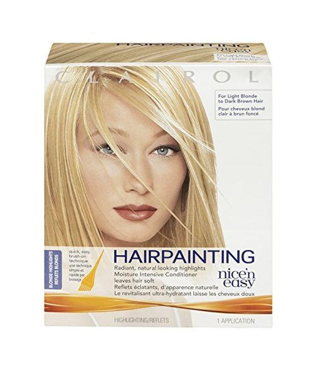 Clairol Nice And Easy Hair Painting Blonde Hair Highlights Kit Buy