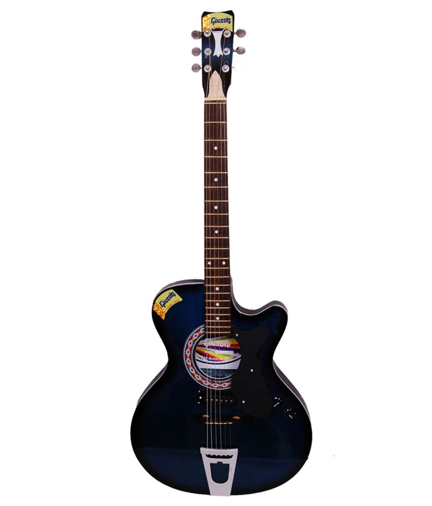 givson blue electro guitar buy givson blue electro guitar online at best prices in india on. Black Bedroom Furniture Sets. Home Design Ideas