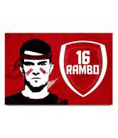 Shopmantra Aaron Ramsey Footballer Poster