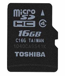 Toshiba Micro Class 4 16gb Micro Sd Card