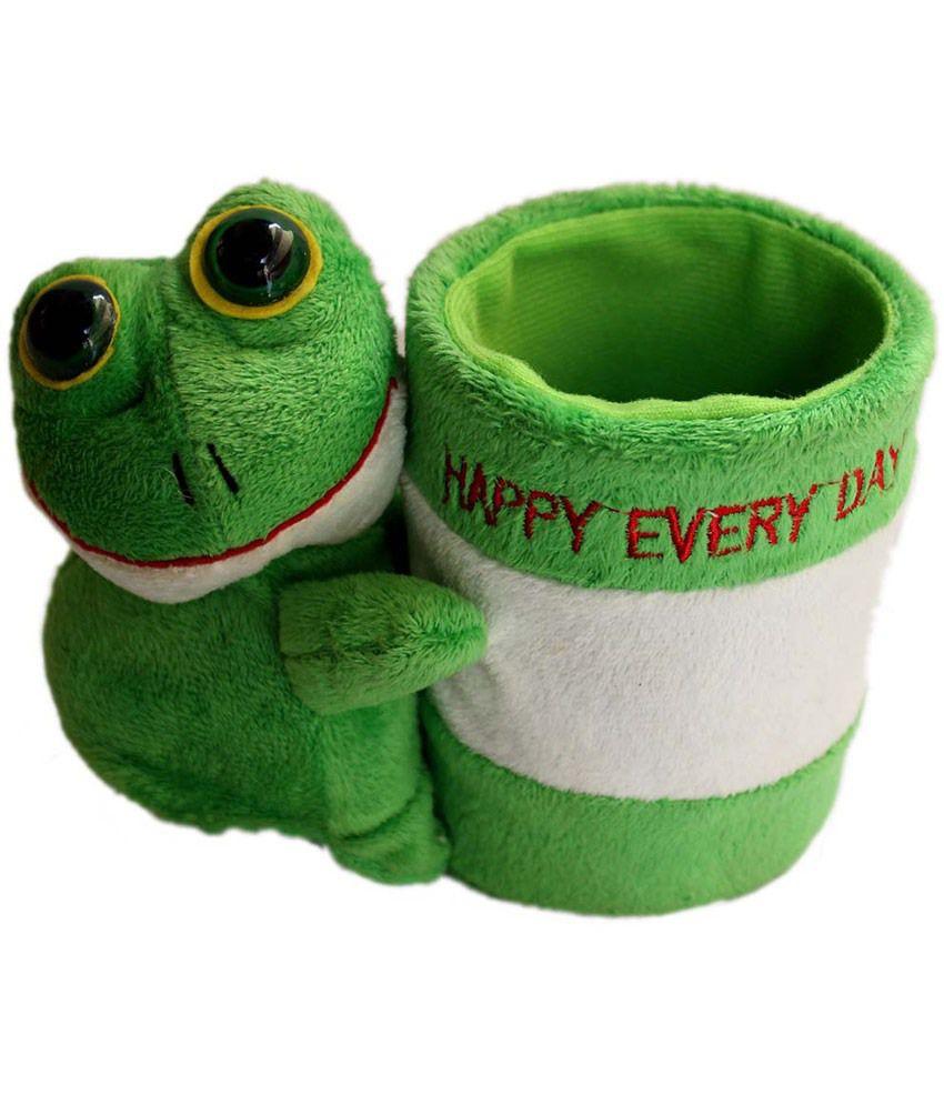 Tootpado Frog - Big Plush Animal Pen Stand Holder Soft Toy