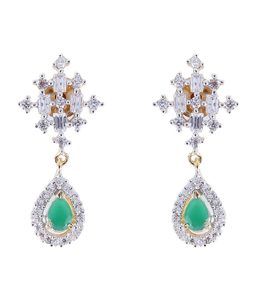 Vastradi Mini American Diamond Earrings