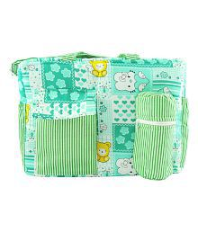 Ole Baby Multi-Colour Cotton Diaper Bag ( 30 cm