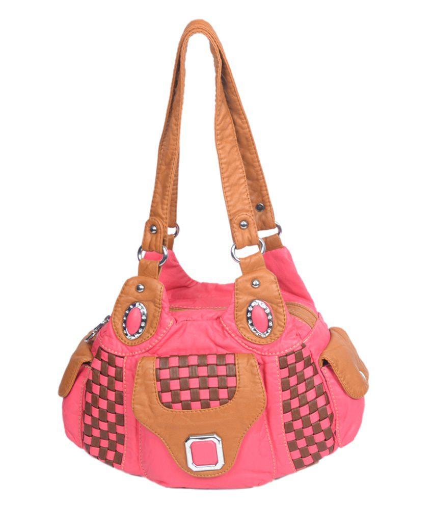 ladies handbags pink - photo #1