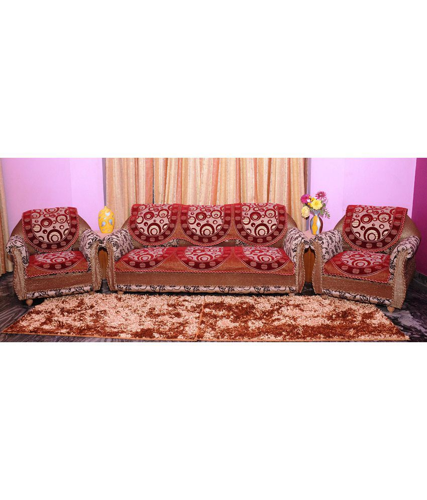 mhf multi blends floral sofa cover buy mhf multi blends