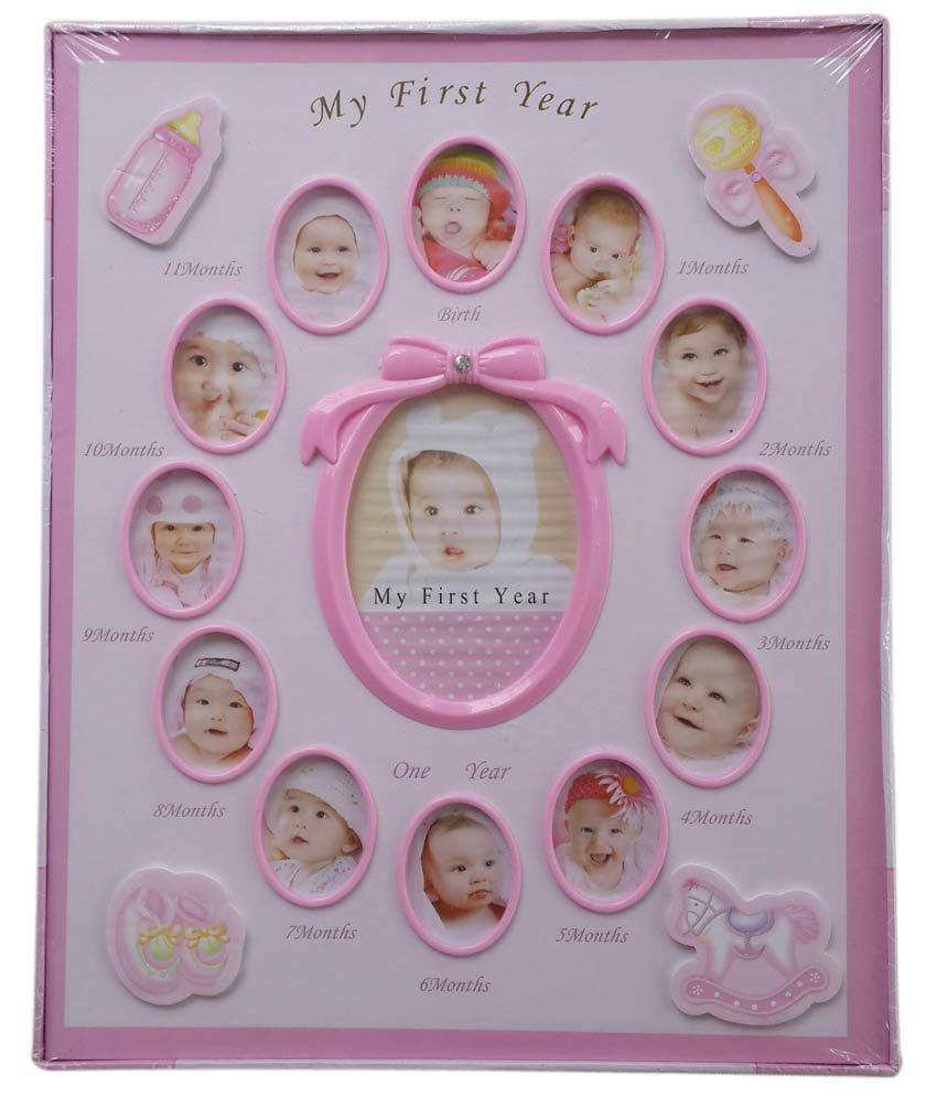 Compare S On 1 Year Baby Photo Frame Online Ping Low
