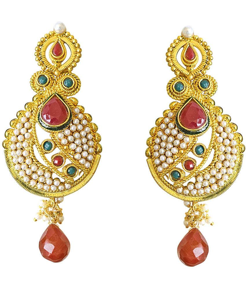 Simple Pretty Women Earring - Buy Pretty Women Earring Online At Best Prices In India On Snapdeal