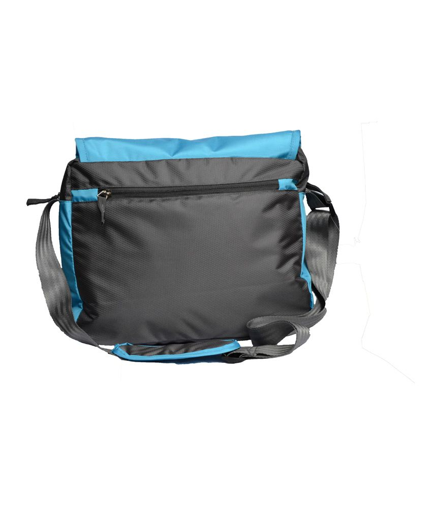 Yark Blue Polyester Sling Bag - Buy Yark Blue Polyester Sling Bag ...