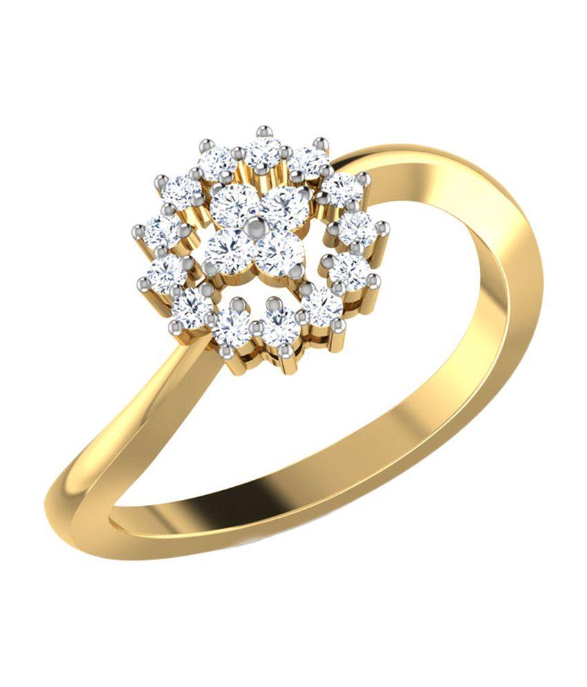 Caratlane Bryony Diamond Ring