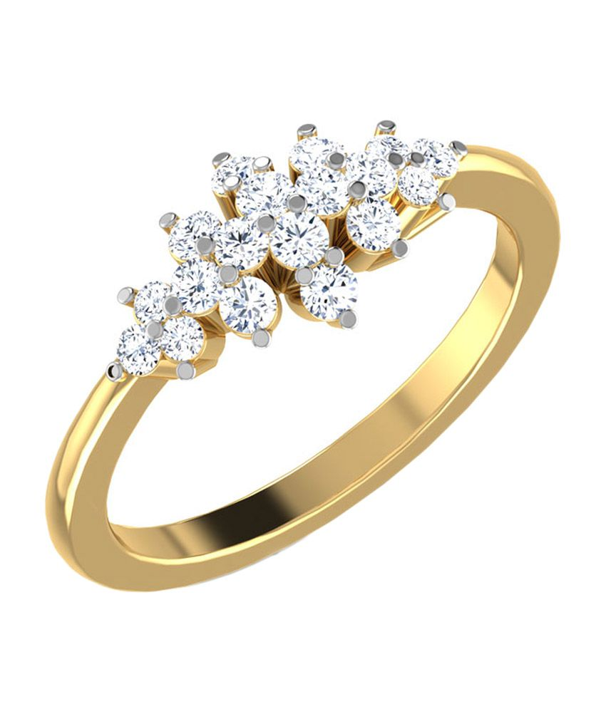 Caratlane Rhapsody Diamond Ring