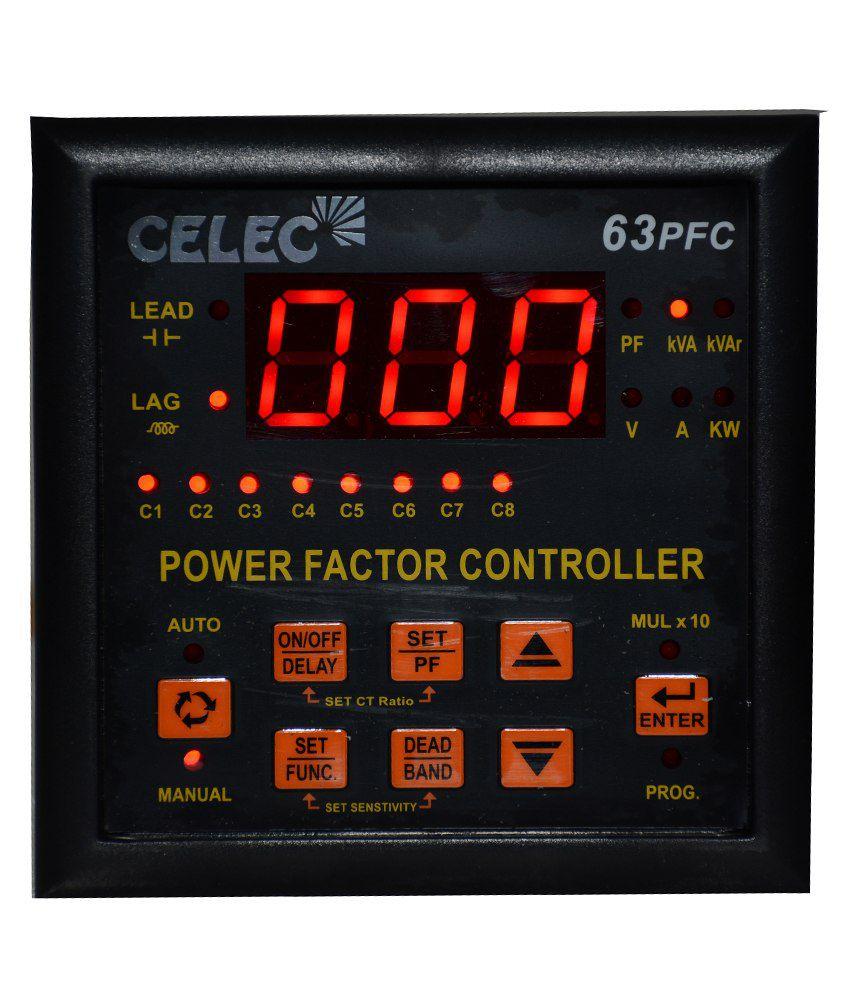 Buy Celec Power Factor Control Relay 63pfc-6 Online At Low Price In India