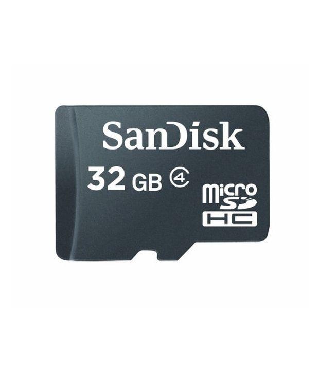 Sandisk-Microsdhc-32gb-Flash-Memory-Card,-Black,-Sdsdqm-032g-b35-(retail-Packaging)