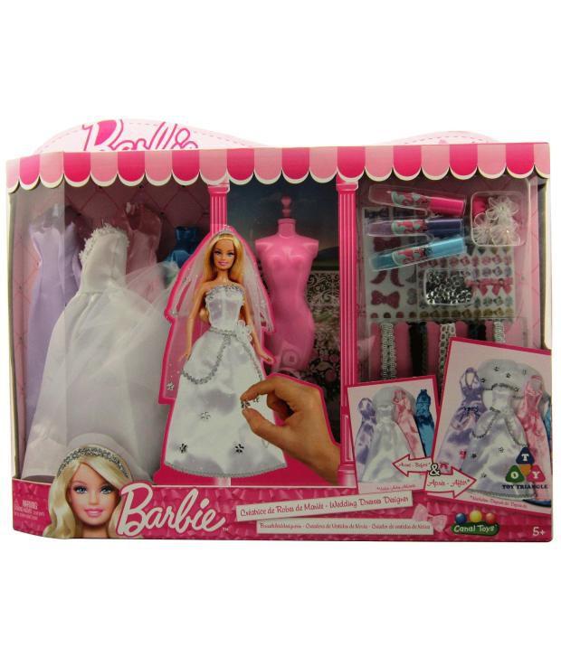 Barbie Wedding Fashion Designer Buy Barbie Wedding Fashion Designer Online At Low Price Snapdeal