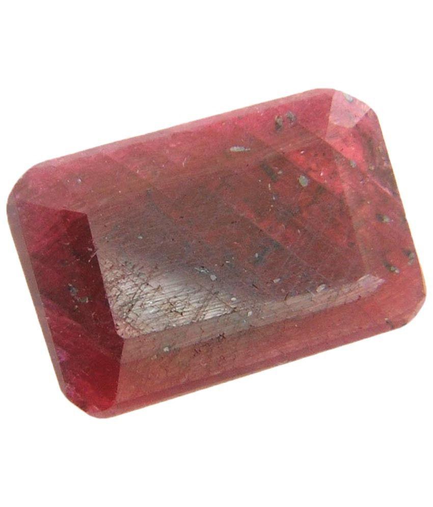 Barishh Igli Certified 46.10ct Red Ruby Gemstone