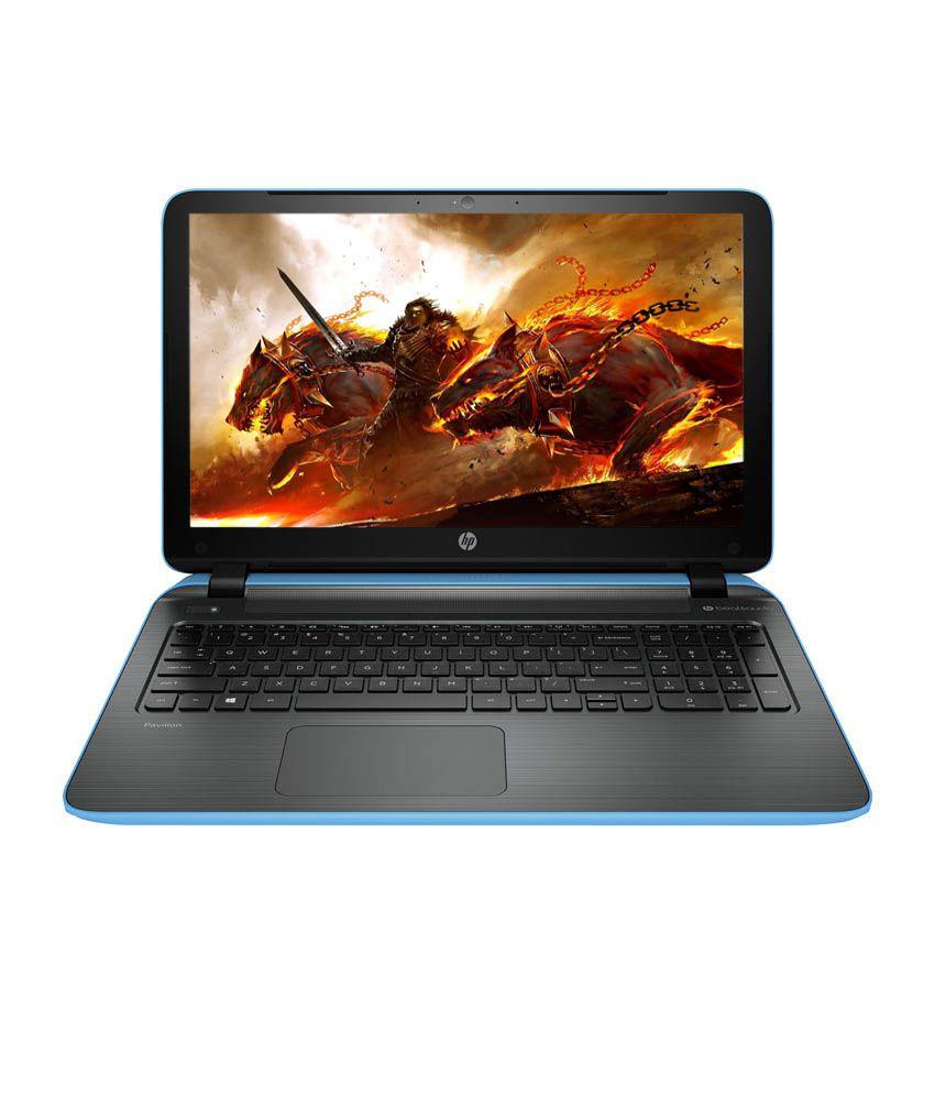 HP Pavilion 15-p203TX Notebook (K8U15PA) (5th Gen Intel Core i3- 4GB RAM- 1TB HDD- 39.62cm (15.6)- Win 8.1- 2GB Graphics) (Blue)
