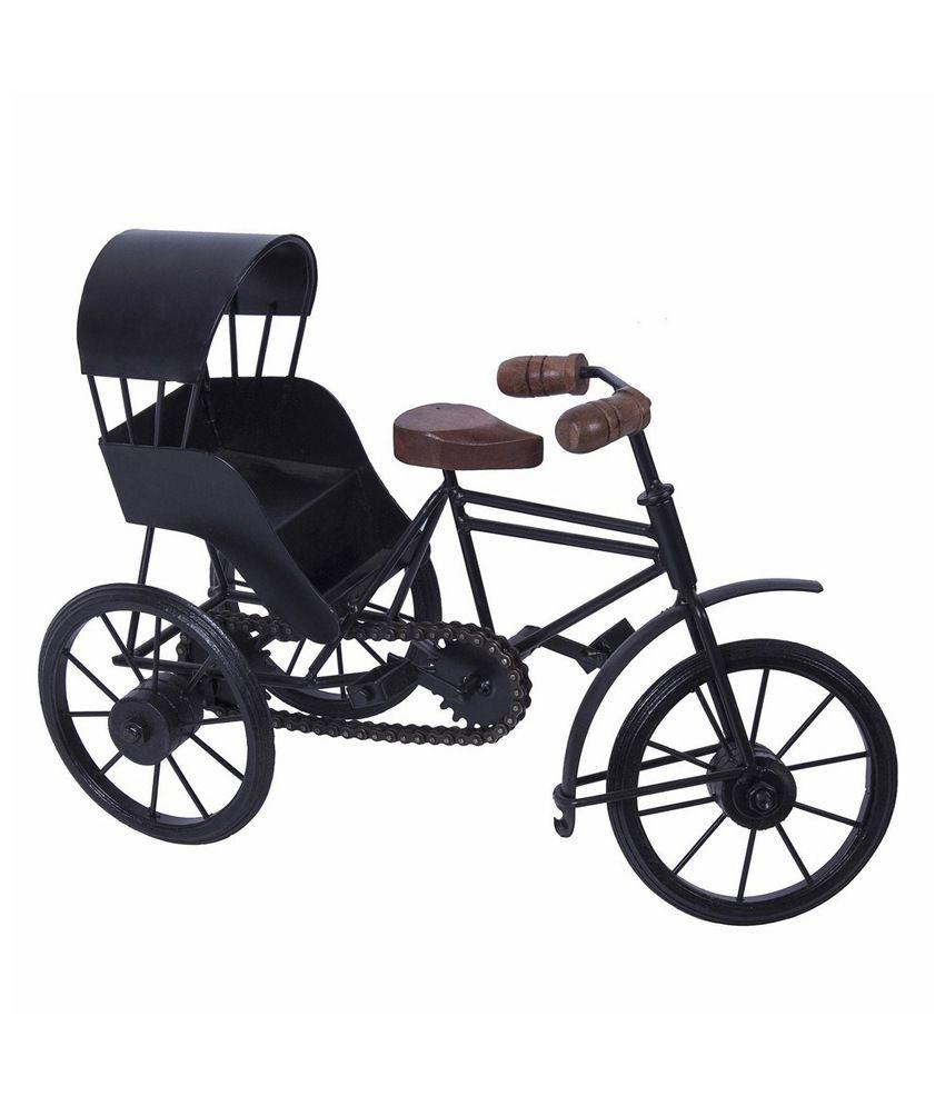 Craft Art India Home Decorative Metal Art Work Of Miniature Rickshaw