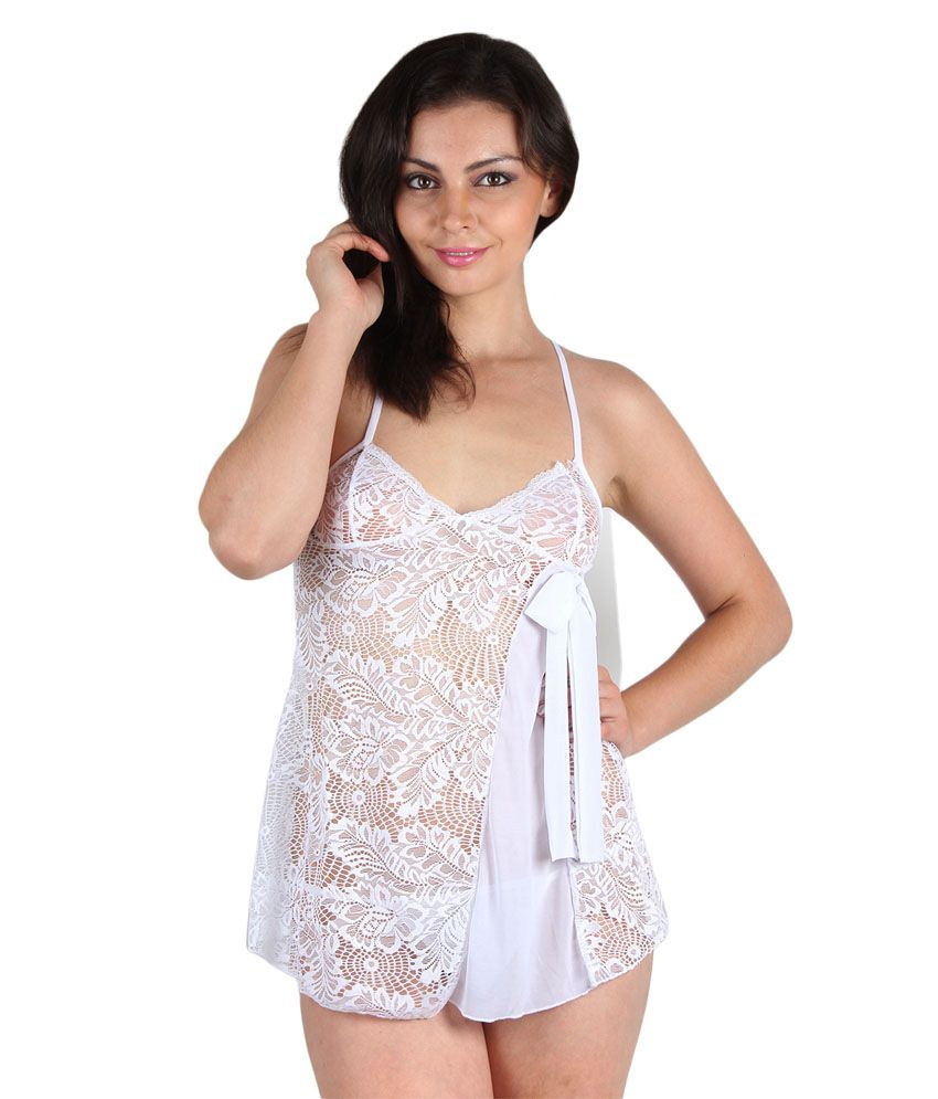 775b7ef86be Buy Kamuk Life White Doll Nightwear Online at Best Prices in India -  Snapdeal
