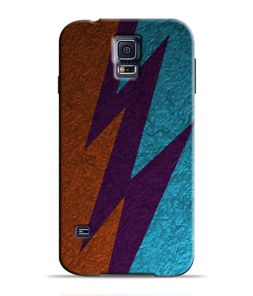 Artifa Abstract Design Amg0163 Hard Shell Back Cover For Samsung Galaxy S5