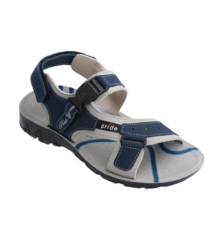 8918ad179252 Vkc Pride Blue Synthetic Leather Buckle Daily Sandals - Buy Vkc Pride Blue  Synthetic Leather Buckle Daily Sandals Online at Best Prices in India on  Snapdeal